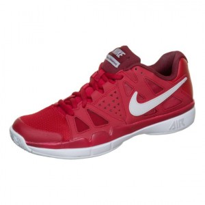 Nike - Air Vapor Advantage All Court Incaltaminte Tenis Barbati Rosu/Gri deschis/Visiniu/Alb