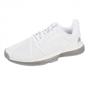 adidas - Court Jam Bounce All Court Incaltaminte Tenis Femei Alb/Gri