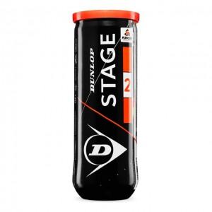 Dunlop - Mini Tennis Stage 2 Cutie 3 Buc. Mingi De Tenis Copii Portocalii