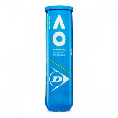 Dunlop - Australian Open Cutie 4 Buc. Mingi Tenis de Camp Competitionale