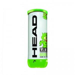 HEAD - TIP Green (Stage 1) Cutie 3 Buc. Mingi Tenis Copii 8-10 Ani