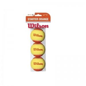 Wilson-Set 3 mingi tenis Starter Orange