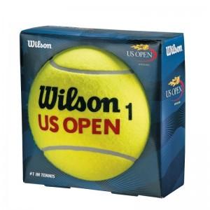 Wilson - US Open Jumbo Ball Minge Autograf 22 cm Galbena