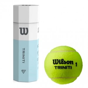 Wilson - Triniti Cutie 4 Buc. Mingi Tenis de Camp All Court Competitionale