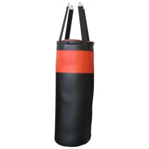 Merco - Punching Bag BP20 Sac de Box 20 Kg Negru/Rosu