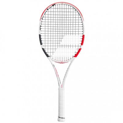 Babolat - Pure Strike 100 (2020) Racheta Tenis de Camp Competitionala Alb/Negru/Rosu