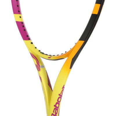 Babolat - Pure Aero Rafa 2021 Racheta Tenis De Camp Competitionala Galben/Portocaliu/Violet/Negru