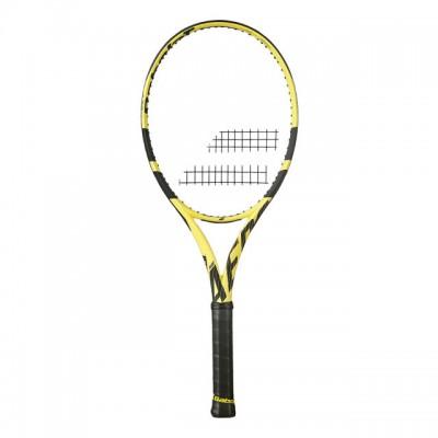 Babolat - Pure Aero 2019 Racheta Tenis de Camp Competitionala Galben/Negru
