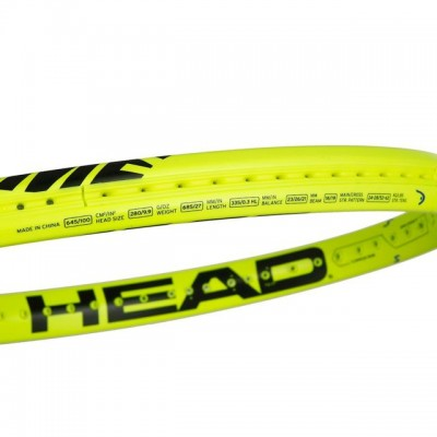 HEAD - Graphene 360 Extreme S Allround Racheta Tenis de Camp Competitionala Galben neon/Negru
