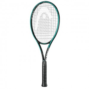 HEAD - Graphene 360+ Gravity MP (2019) Racheta Tenis De Camp Competitionala Negru/Verde turcoaz/Rosu coral