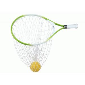 Pro's Pro - Catch Set 58 cm Joc de Tenis cu Sistem de Prindere a Mingii Verde/Alb