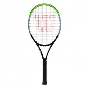 """Wilson - Blade V 7.0 26"""" Junior (2019) Racheta Tenis Competitionala Copii Negru/Verde deschis/Argintiu"""