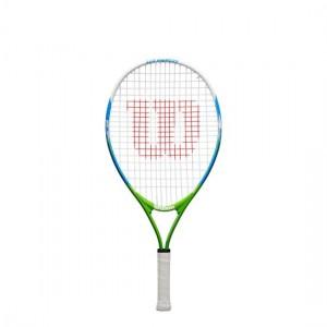 """Wilson - US Open Junior 23"""" (2020) Racheta Tenis Copii Albastru/Verde/Alb"""