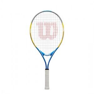 """Wilson - US Open Junior 25"""" (2020) Racheta Tenis Copii Albastru/Portocaliu/Argintiu"""