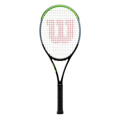 Wilson - Blade 100L V7.0 Tour Racheta Tenis De Camp Competitionala Negru/Verde Deschis/Argintiu