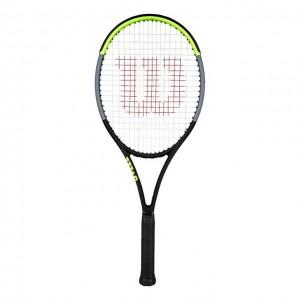 Wilson - Blade 100UL V7.0 Tour Racheta Tenis De Camp Competitionala Negru/Verde Deschis/Argintiu