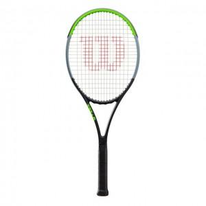 Wilson - Blade 104 V7.0 Tour Racheta Tenis De Camp Competitionala Negru/Verde Deschis/Argintiu