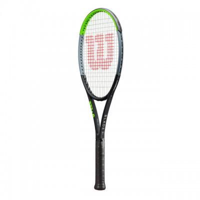 Wilson - Blade 98 V7.0 18x20 Tour Racheta Tenis De Camp Competitionala Negru/Verde deschis/Argintiu