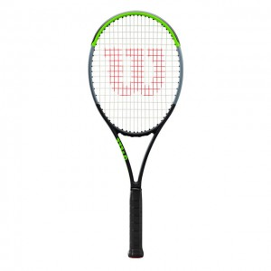 Wilson - Blade 98S V7.0 Tour Racheta Tenis De Camp Competitionala Negru/Verde Deschis/Argintiu