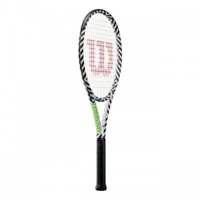 Wilson - Blade 98S Bold Tour Racheta Tenis de Camp Competitionala Alb/Negru/Verde