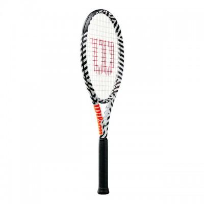 Wilson - Burn 100LS Bold Tour Racheta Tenis De Camp Competitionala Alb/Negru/Portocaliu