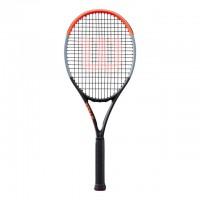 Wilson - Clash 100 Racheta Tenis de Camp Competitionala Negru/Gri/Rosu deschis
