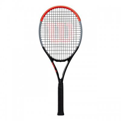 Wilson - Clash 100 Tour Racheta Tenis de Camp Competitionala Negru/Gri/Rosu deschis