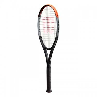Wilson - Burn V4 100 Tour 2020 Racheta Tenis de Camp Competitionala Negru/Gri/Portocaliu