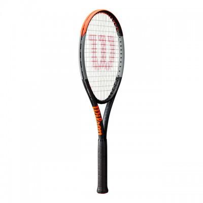Wilson - Burn V4 100 LS Tour 2020 Racheta Tenis De Camp Competitionala Negru/Gri/Portocaliu