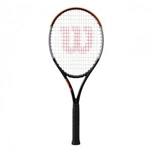 Wilson - Burn V4 100 ULS Tour 2020 Racheta Tenis De Camp Competitionala Negru/Gri/Portocaliu