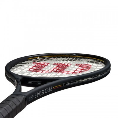 Wilson - Pro Staff V13 97L Tour 2020 Racheta Tenis De Camp Competitionala Negru/Alb/Rosu/Galben