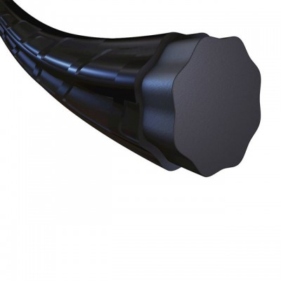 Babolat - RPM Blast Rough Racordaj Tenis Rola 200m Negru