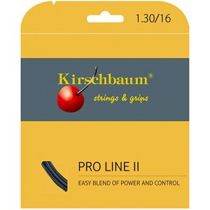 Kirschbaum - Pro Line II Negru Racordaj Tenis de Camp Plic 12 m