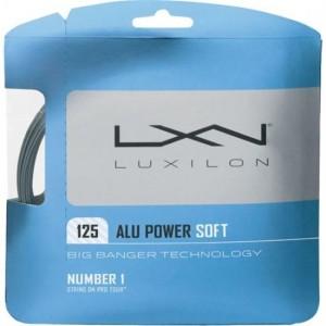 Luxilon - Alu Power Soft 1,25 Plic 12,2m Racordaj Tenis De Camp Argintiu