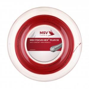 MSV - Focus Hex Plus 38 Racordaj Tenis De Camp Rola 200m Rosu