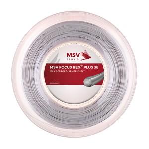 MSV - Focus Hex Plus 38 Racordaj Tenis De Camp Rola 200m Alb