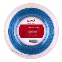 MSV- Racordaj Tenis Focus Hex 200m Albastru