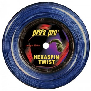 Pro's Pro - Hexaspin Twist Racordaj Tenis Rola 200m Albastru