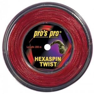 Pro's Pro - Hexaspin Twist Racordaj Tenis Rola 200m Rosu