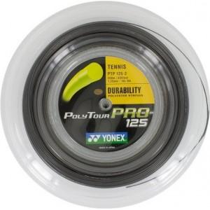 Yonex- Poly Tour PRO 125 Racordaj tenis 200m culoare Gri
