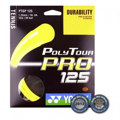 Yonex - Poly Tour Pro Plic Racordaj Tenis 12m Galben neon