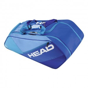 Head - Elite All Court Racket Bag Geanta Tenis 12 Rachete albastru/alb