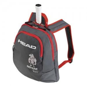 HEAD - Novak Geanta Tenis Juniori negru/rosu