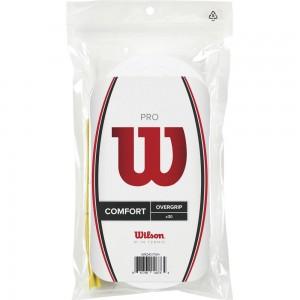 Wilson - Pro Overgrip 30 Bucati albe