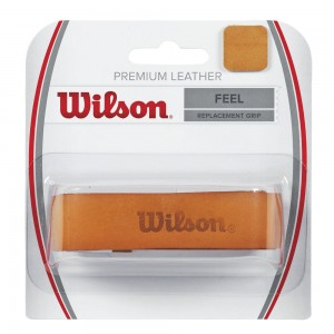 Wilson - Premium Leather Replacement Grip maro