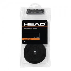 HEAD - Xtreme Soft 30 Pack Set 30 Buc Overgrip Rachete Tenis Negru