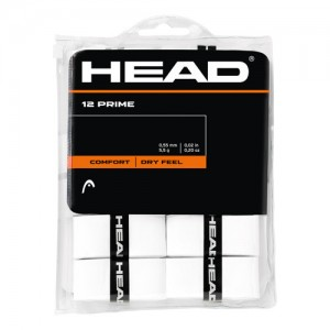 HEAD - Prime 12 Pack Set 12 Buc Overgrip Alb