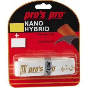 Pro,s Pro - Nano Hybrid Grip Racheta Tenis Alb