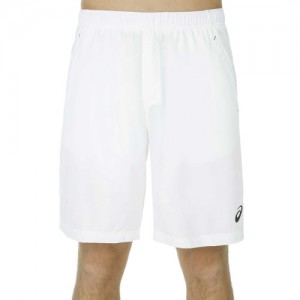 asics - Club Woven Short 9 Inch Barbati alb