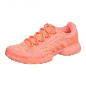 adidas - By Stella McCartney Barricade Boost All Court Incaltaminte Tenis Femei Portocaliu coral/Argintiu